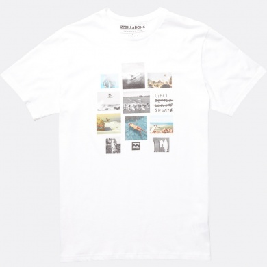 Billabong Tshirt Collage 2017 weiss Herren