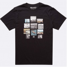 Billabong Tshirt Collage schwarz Herren