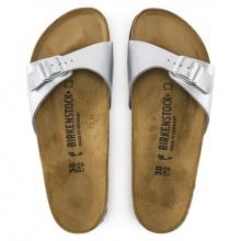 Birkenstock Sandale Madrid silber Damen