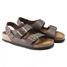Birkenstock Sandale Milano dunkelbraun Herren