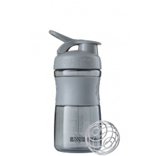 BlenderBottle Trinkflasche Sportmixer Grip 590ml grau