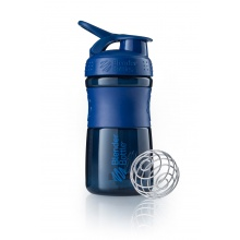 BlenderBottle Trinkflasche Sportmixer Grip 590ml navy