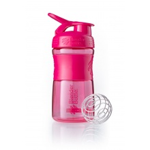 BlenderBottle Trinkflasche Sportmixer Grip 590ml pink