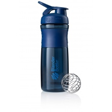 BlenderBottle Trinkflasche Sportmixer Grip 820ml navy
