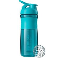 BlenderBottle Trinkflasche Sportmixer Grip 820ml teal
