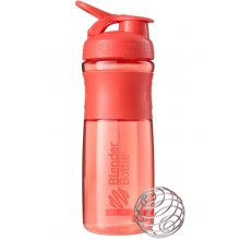 BlenderBottle Trinkflasche Sportmixer Grip 820ml koralle