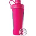 BlenderBottle Trinkflasche Radian Glas 820ml pink