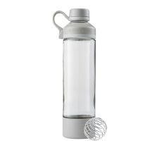 BlenderBottle Trinkflasche Mantra Glass 600ml weiss/grau