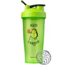 BlenderBottle Trinkflasche Classic Loop JUST FOR FUN 820ml Avocardio