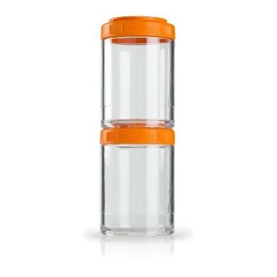 BlenderBottle Behälter GoStak 150ml orange 2er