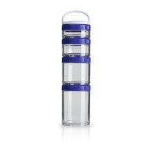 BlenderBottle Behälter GoStak Starter purple 4er