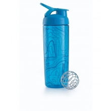 BlenderBottle Trinkflasche SportMixer Signature Sleek 820ml blau