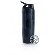 BlenderBottle Trinkflasche SportMixer Signature Sleek 820ml schwarz (SCHIEFER)