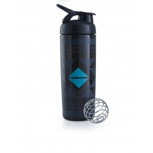 BlenderBottle Trinkflasche SportMixer Signature Sleek 820ml schwarz (DIAMANT)
