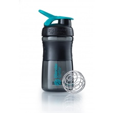 BlenderBottle Trinkflasche Sportmixer Black Fashion 590ml schwarz/blau