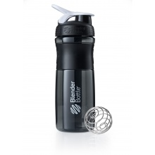 BlenderBottle Trinkflasche Sportmixer Grip Black Fashion 820ml schwarz/weiss