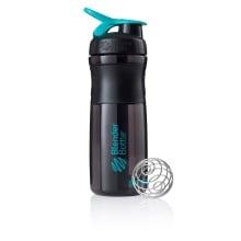 BlenderBottle Trinkflasche Sportmixer Grip Black Fashion 820ml schwarz/blau
