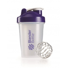 BlenderBottle Trinkflasche Classic 590ml transparent/purple