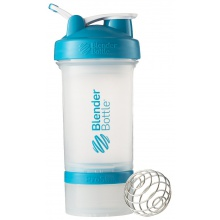BlenderBottle Trinkflasche ProStak 650ml transparent/aqua