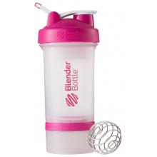BlenderBottle Trinkflasche ProStak 650ml transparent/pink