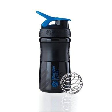 BlenderBottle Trinkflasche Sportmixer 590ml schwarz/blau