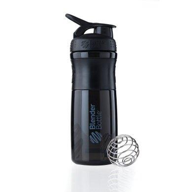 BlenderBottle Trinkflasche Sportmixer Grip 820ml schwarz/schwarz