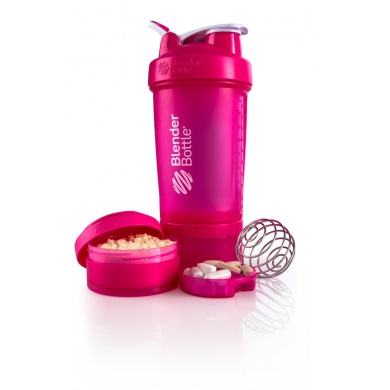 BlenderBottle Trinkflasche ProStak 650ml pink