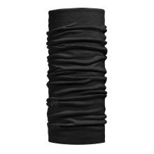 Buff Multifunktionstuch Merinowolle Lightweight Solid schwarz Herren/Damen