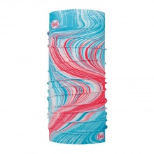 Buff Multifunktionstuch Original Airglow Multi rot/cyan Damen