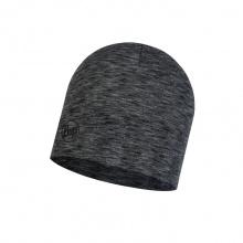Buff Mütze (Beanie) Midweight Merinowolle graphite multi Stripes
