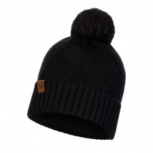 Buff Mütze (Bommel) Strick & Polar Raisa schwarz