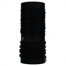 Buff Multifunktionstuch Polar Solid (recycelt, dehnbar) schwarz Herren/Damen
