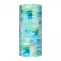Buff Multifunktionstuch CoolNet UV+ und kühlende Wirkung Marbled grün/türkisblau