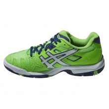 Asics Gel Resolution 5 grün Tennisschuhe Kinder