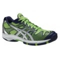 Asics Gel Solution Speed 2 grün/navy Tennisschuhe Kinder