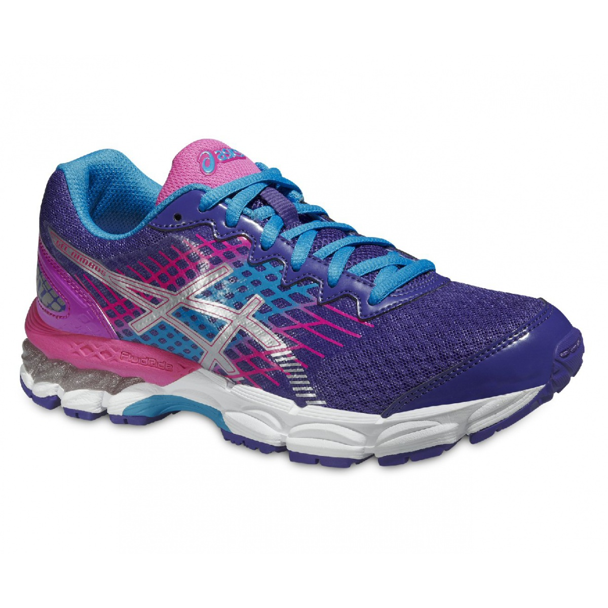 asics gel nimbus 17 blueberry laufschuhe kinder. Black Bedroom Furniture Sets. Home Design Ideas
