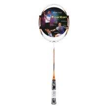 Carlton Heritage V1.0 orange/weiss Badmintonschläger - besaitet -