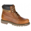 Caterpillar Colorado Leder goldbraun Winterschuhe Herren