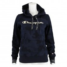 Champion Hoodie Big Logo Graphic Print 2019 dunkelblau Damen