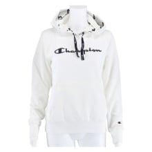 Champion Hoodie Big Logo Print 2020 weiss Damen
