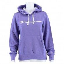 Champion Kapuzenpullover (Hoodie) American Classic Logo 2021 violett Damen