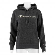 Champion Hoodie Sweatshirt Big Logo Print (gefüttert) 2020 dunkelgrau Damen