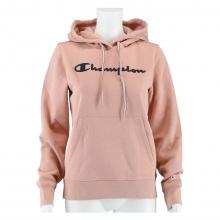 Champion Hoodie Sweatshirt Big Logo Print (gefüttert) 2020 rose Damen