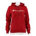 Champion Hoodie Sweatshirt Big Logo Print (gefüttert) 2020 weinrot Damen