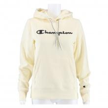 Champion Hoodie Sweatshirt Big Logo Print (gefüttert) 2020 beige Damen