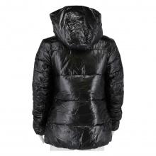 Champion Übergangsjacke mit Kapuze (Hooded) schwarz Damen