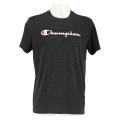Champion Tshirt Big Print 2017 schwarz meliert Herren