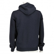 Champion Sweatjacke Hooded Full Zip Small Print 2017 blau meliert Herren