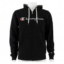 Champion Hoodie Full Zip Logo 2018 anthrazit Herren
