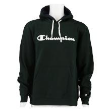 Champion Hoodie Big Logo Print dunkelgrün/weiss Herren